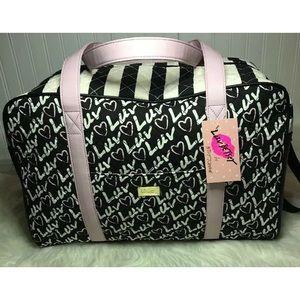 NWT Luv Betsey Johnson Weekender Travel bag
